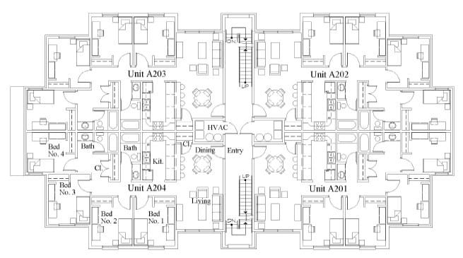 Campus Commons Building Floor Plan